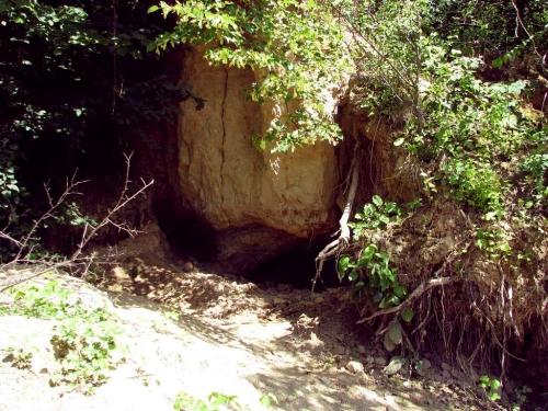Widok jednej z kopanek